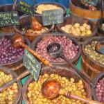 Ajaccio Oliven auf Markt