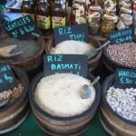 Ajaccio Reis auf Markt